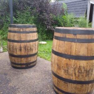 Refurbished Bourbon Barrel